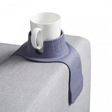Mugghållare till soffa - Mörkgrå silikon