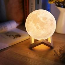 Måne  Lampe  -  18cm