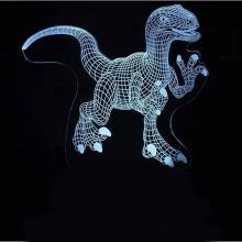 Dinosaurielampa 3D