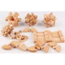 Cube puzzle set 6 st.