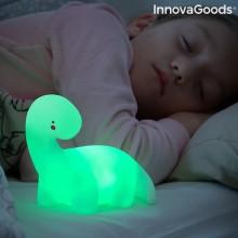 Dinosaurie  LED-nattlampa  med  färgändring