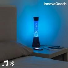 Lavalampa  med  Bluetooth-högtalare  och  mikrofon
