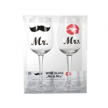 Vinglas  Mr  &  Mrs  -  2  st