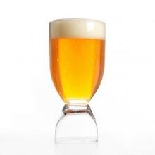 Kombinerat öl- och shotglas