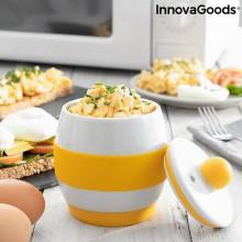 Keramisk  äggkokare  för  mikrovågsugn
