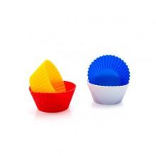 Silikonformar för muffins (4 st)
