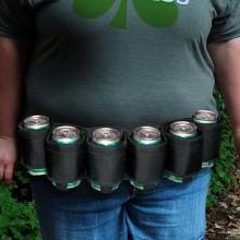 Ölbälte för 6 öl