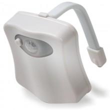 Toalett  LED-belysning
