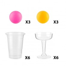 Party  Pong  -  18  delar