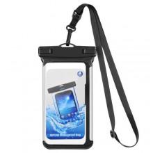Vattentätt fodral till mobiltelefoner