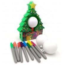 Maskin  till  julkulor  -  gör  dina  egna  julkulor