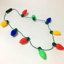 Halsband med julbelysning