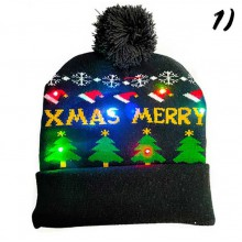 Julmössa med LED-lampor