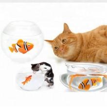 Elektrisk  leksaksfisk  till  katter