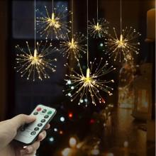LED-julstjärna  med  fjärrkontroll
