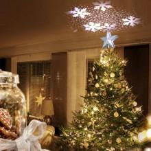 3D-julstjärna med ljusshow
