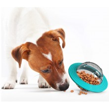 Aktivitetsboll för hundar som äter för snabbt
