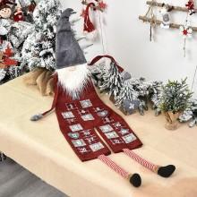 Skapa din egen paketkalender Tomte - 120 cm