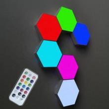Häftiga  Honeycomb  touchlampor  -  6  st