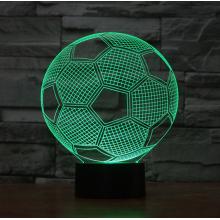 Fotboll  3D-lampa