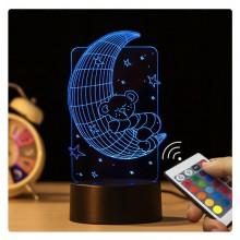 3D-nattlampa  för  barn