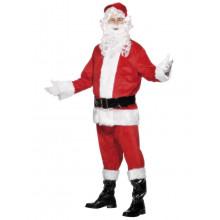 Komplet  Julemandskostume