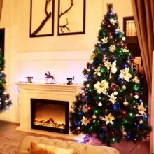 Julgransbelysning med  LED
