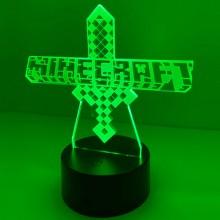 3D Minecraft lampa