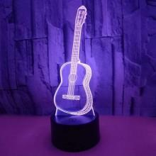 3D Guitar lampa
