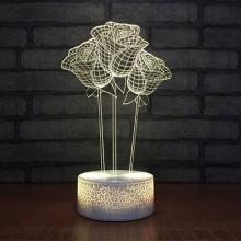 3D Ros lampa