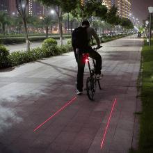 Laser-baklampa Till Cykeln