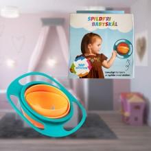 Gyro bowl spillfri matskål för barn