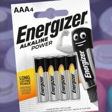Energizer AAA-batterier